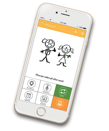 applicazione emergenza bambini famil.care //**// famil.care mergency app for kids
